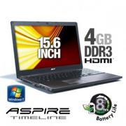 Acer Aspire Timeline AS5810TZ-4761 LX.PKZ02.004 Notebook PC - Intel Pentium Dual-Core ULV SU4100 1.3...