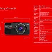 Camera hành trình Vietmap C5 + GPS + Thẻ 16Gb