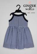 Đầm Tinh Nghịch Cho Bé SC103 GINgER WORLD