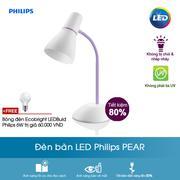 Đèn bàn LED Philips Pear - tím