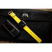 Dây đồng hồ da thật Handmade cho Apple Watch ( 38mm và 42mm ) – Mẫu BF93D11