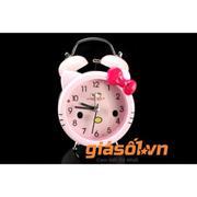 Đồng hồ báo thức để bàn cho bé 17063 (Hồng)