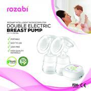 Máy hút sữa điện đôi kèm matxa 12 cấp độ Rozabi