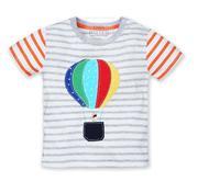 Áo phông cộc tay Little Maven khinh khí cầu 2T