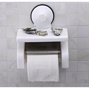 Hộp đựng giấy vệ sinh hút chân không có giá để đồ tiện lợi