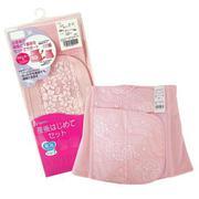 Nịt bụng sau sinh loại dài màu hồng 76-GCPG030045