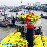 Tour chợ nổi Cái Bè - cù lao Tân Phong 1 ngày siêu hấp dẫn