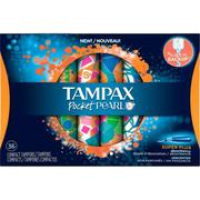 BĂNG VỆ SINH TAMPAX POCKET PEARL - SUPER PLUS UNSCENTED (36 TAMPONS)