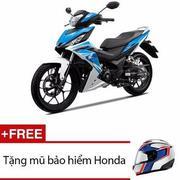 Xe máy Honda Winner 150 phiên bản thể thao (Xanh trắng đen) + Tặng 1 mũ bảo hiểm màu ngẫu nhiên