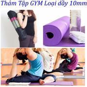 Thảm Tập Yoga Loại 1 Cao Cấp Có Túi Đựng Sản Xuất 2017