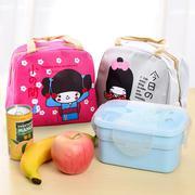 Túi giữ nhiệt đựng thức ăn in hình cô gái Nhật Bản