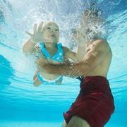 Khóa học bơi cơ bản bể nước mặn Hapulico Complex