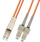 Krone LC-SC Duplex SM 9/125um, 2mm PVC Patch Cord 3m