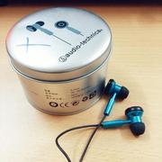 Tai nghe nhét tai hộp sắt Audio Technica - hàng nhập khẩu
