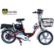 Xe đạp điện Bmx khung sơn vành 18 (Đỏ)