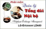 Phần mềm quản lý cước cho tổng đài LG-Ericsson LKD60