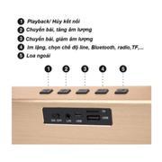 Loa Bluetooth Kingkong X6 siêu bass cho âm thanh chuẩn 3D(Bạc)