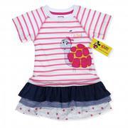 Váy kẻ in rùa Little