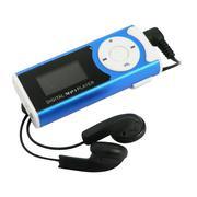 Máy MP3 màn hình LCD dài - Xanh dương
