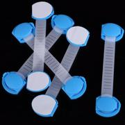 Set Baby Child Kids Drawer Cabinet Lock Long Style Safety Lock (Blue) - INTL