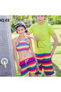 Bộ đồ đôi đi biển Family Shop 1 bộ bikini - 1 quần đùi nữ Family Shop - 1 quần đùi Nam HQ 01A