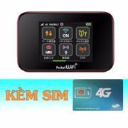 Bộ Phát Wifi 3G/4G Emobile GL10P+Sim 4G Viettel trọn gói 20GB/tháng