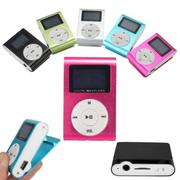 MP3 Player USB Clip 32GB Micro SD Card Slot - intl
