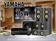 YAMAHA RX A830 - B&W 684 S2 Series