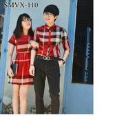 Áo váy cặp sơ mi - SMV110