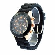 Đồng hồ dây cao su Bewatch B053 (Đen)