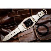 Dây đồng hồ da thật Handmade cho Apple Watch ( 38mm và 42mm ) – Mẫu BF02D64 CUFF