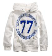77 double digits popover hoodie