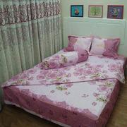Bộ ga giường cotton Hoa Mai Tmark