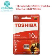 Thẻ nhớ MicroSDHC Toshiba Exceria 16GB 90MB/s