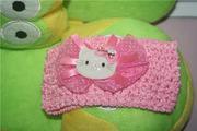 Băng đô ren cho bé  mèo kitty  BD3