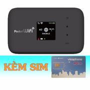Bộ Phát Wifi 3G/4G Emobile GL09P+Sim 4G Vinaphone Khuyễn Mãi 120GB/Tháng