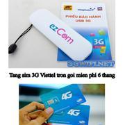 COMBO USB 3G Dùng Đa Mạng + sim 3G Viettel trọng gói 6 tháng