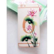 Ốp lưng dẻo cho iPhone 6 plus (Họa tiết hoa văn)