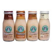 Lốc 4 chai cafe Starbucks Frappuccino Mocha Light pha sẵn 281ml