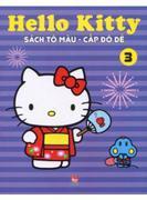 Sách Tô Màu Hello Kitty - Cấp Độ Dễ T3