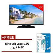 Tivi LED Philips 24 inch HD - Model 24PHT4101S/67 (Đen) - Hãng Phân Phối Chính Thức + Tặng USB Lexar...