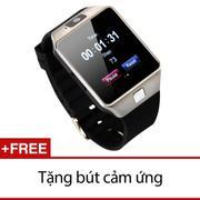 Đồng hồ thông minh Smartwatch InWatch C01 (Bạc TiTan) + Tặng 1 bút cảm ứng