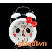 Đồng hồ báo thức để bàn cho bé 17064 (Nơ đỏ)
