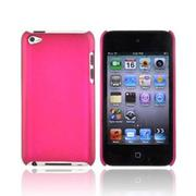 niceEshop Roseo Unique Solid Color Hard Shell Scrub Skin Protector Back Case for iPod Touch 4 - Intl