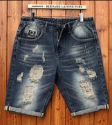 quần bermuda jeans rách
