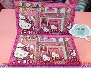Bộ bút viết Kitty dành cho bé gái mèo Kitty BV6