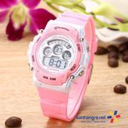 Đồng hồ điện tử đeo tay thể thao Mingrui 8552095 - Hồng