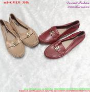 Giày mọi nữ viền chỉ nổi bật năng động GM131