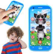 Điện thoại thông minh hiệu ứng 3D độc đáo màu xanh mèo Tom