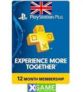 Thẻ PSN PLUS [1 YEAR] UK